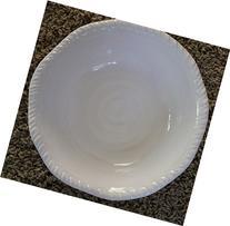 Tommy Bahama White Rope Edge Melamine Soup/cereal Bowls -
