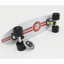 "NEW White Fish Skateboard Wood Maple 22"" Retro Vintage Old"