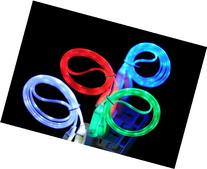 Importer520  Green Visible LED Light Up Micro USB Data