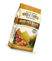 Whole Earth Farms Grain Free Recipe Dry Dog Food, Chicken &