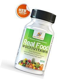 DNA Formulas Whole Food Multivitamin 120 Capsules Enhanced