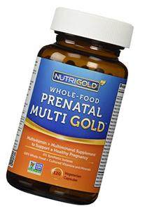 Organic Whole Food Prenatal Vitamins - Prenatal Multi Gold