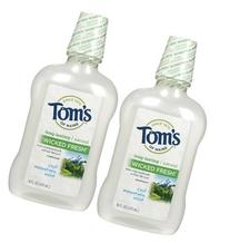 Tom's of Maine Long Lasting Wicked Fresh Mouthwash-Cool