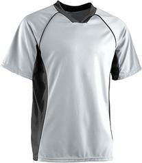 Augusta Sportswear MEN'S WICKING SOCCER SHIRT XL Silver