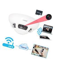 Wiseup 8GB Wifi Network Hidden Camera Smoke Detector
