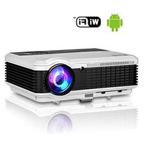 EUG HD Wifi Projector Video 1080p Support 3600 Lumen HDMI