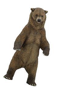 Papo Wild Animal Kingdom Figure, Grizzly Bear