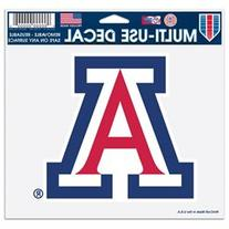 Arizona Wildcats Official NCAA 4 inch x 6 inch decal by