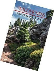 Wilderness Weekly Planner 2015: 2 Year Calendar