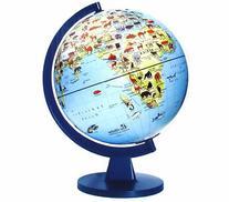 """Edu-Toys  11"""" Wildlife Globe"""