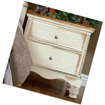 Hillsdale Wilshire 2 Drawer Night Stand - Antique White