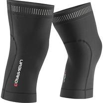 Louis Garneau Wind Pro Knee Warmers: Black XL