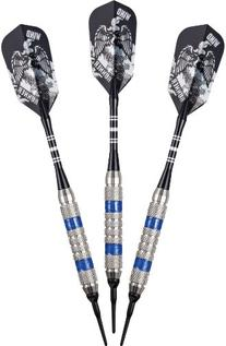 Viper Wind Runner Soft Tip Darts, Blue Rings, 18 Grams