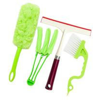 Window Cleaning Tools: 1 Microfiber Mini Blind Duster, 1 360