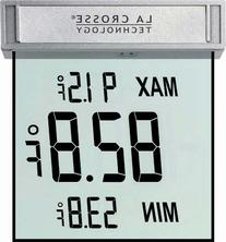 La Crosse Technology WS-1025 Digital Window Thermometer with