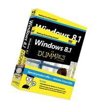 Windows 8.1 For Dummies Book + DVD Bundle