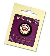 "True Wine Wipes Single Packs , 2"", White"