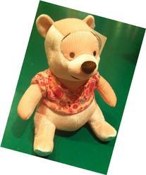 "Disney Winnie the Pooh, Paisley Pooh 12"" Plush Soft Doll Toy"