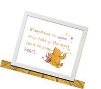 Winnie the Pooh Inspired Nursery Wall Art, Kids Room Decor,