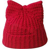 eYourlife2012 Women Winter Beret Devil Horns Cat Ear Crochet