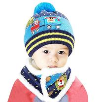 Winter Infant Baby Toddler Kid Hat Wool Knitted Crochet
