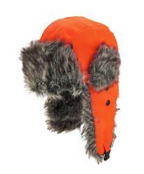 Dakota Dan Winter Trooper Cap Hat w/ Faux Fur Lining