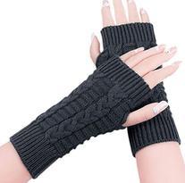 JOVANA New Women Ladies Winter Warm Knitted Fingerless