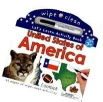 Wipe Clean United States Activity Atlas