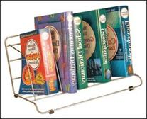 """Wire Display Stands - Book Rack - 8""""H x 16-1/2""""W x 10""""D"""