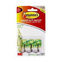 Command Wire Hooks, Small, Glamorous Green, 3-Hooks