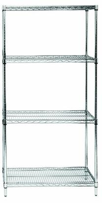 Quantum Storage Systems RWR72-1830LD 4-Tier Wire Shelving