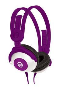 Kidz Gear Wired Headphones For Kids - Purple