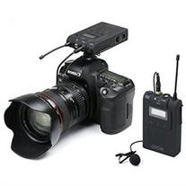 Movo Wireless 48 Channel UHF Lavalier Microphone System for
