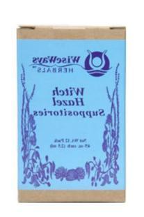 WiseWays Herbals Witch Hazel Suppositories 2.5 gm