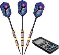 Viper Wizard Soft Tip Darts with Storage/Travel Case, Purple