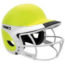 Worth WLBHA-OY-SBWG2-W Liberty Away Fastpitch Batting Helmet