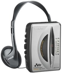 Sony WM-FX195 Walkman AM / FM Stereo Cassette Player with