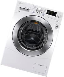 "LG WM1377HW 24"" Front-Load Washer with 2.3 cu. ft. Capacity"