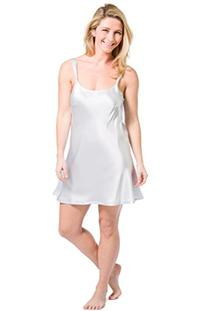 Fishers Finery Women's Essential 100% Silk Chemise