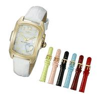 Women's Sp. Ed. Lupah White Genuine Leather MOP Dial -