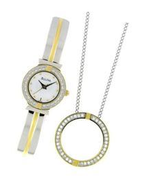Bulova Women's 98X000 Swarovski Crystal Pendant Watch Boxed
