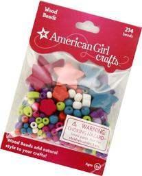 American Girl Crafts Wood Beads