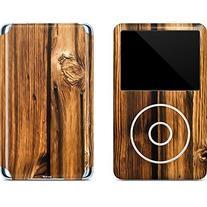 Wood iPod Classic  80 & 160GB Skin - Glazed Wood Grain Vinyl
