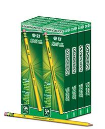 Dixon Ticonderoga Wood-Cased #2 HB Pencils, Box of 96,