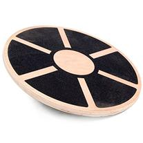 MeSha Wooden Balance Board - Round - Made of High-Quality