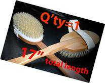 Premium Natural Wooden Bath Shower Body Back Brush Spa