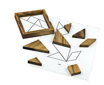 Wooden Tangram Puzzle for Dementia and Alzheimer's
