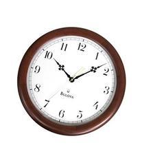 Bulova Wooden Wall Clock, C4495
