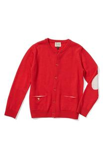 Girl's Armani Junior Wool Cardigan