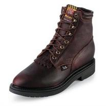 Justin Work Boots Mens Pitstop Lace Up Western 769